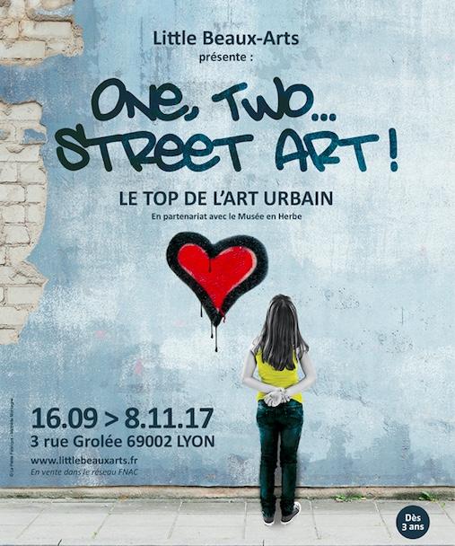 Expositions One, Two Street Art - Little Beaux Arts - Lyon