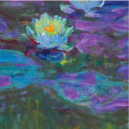 Ateliers a lecole - Little Beaux Arts - Les chevalets de Monet - Mini-expositions