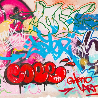 Ateliers a l'ecole - Little Beaux Arts - Mini-expositions - One, Two, Street Art!