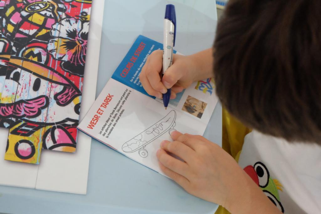 Prestations - Carnet de visite et livrets jeux - Little Beaux Arts - Lyon 2