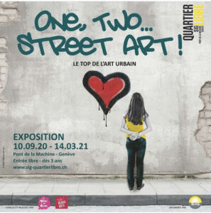 Article exposition One, Two, Street Art - Genève