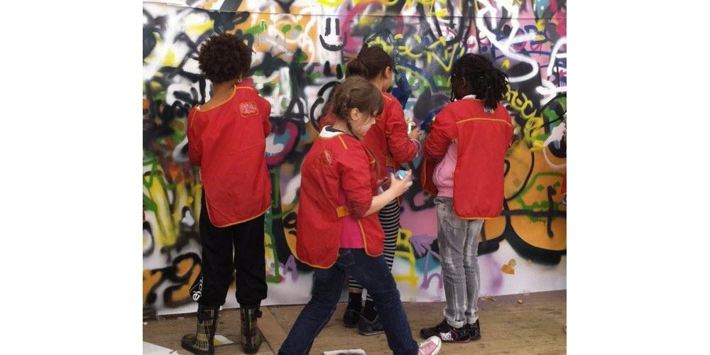 Article Le Progrès - Le Street Art à la conquête des enfants