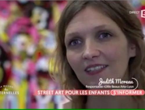 Little Beaux Arts - Les Maternelles - Street Art